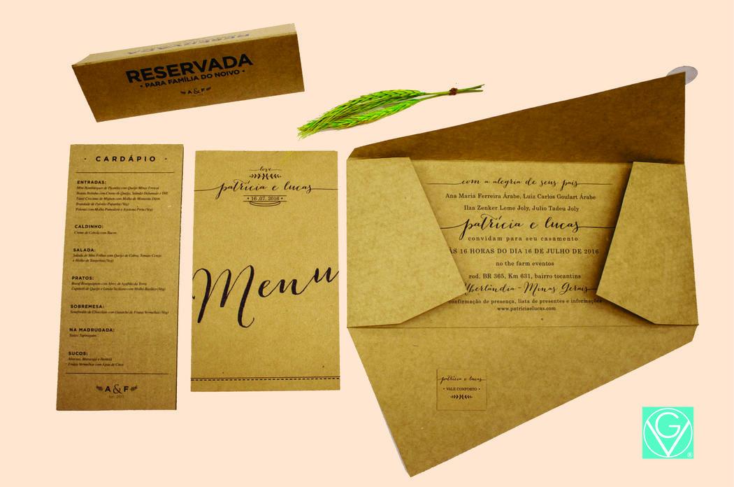 Convites rustico e moderno!