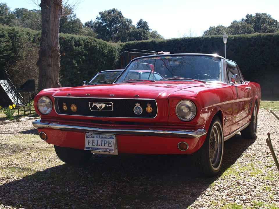 Ford Mustang de 1965 (Madrid)