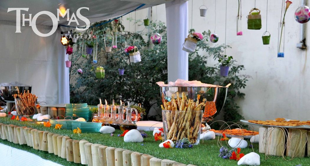 Buffet à thème : Jardin