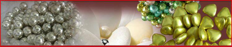 Dragées Fines, Perles de sucres et agréments pour dragées