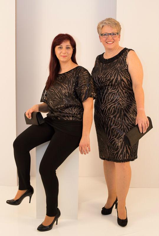 Beispiel: Elegante Mode, Foto: Mode Wicky.