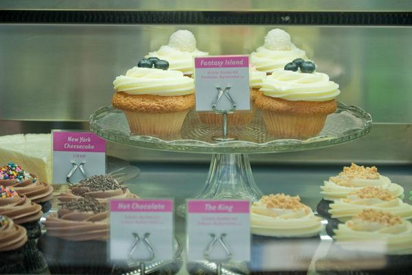 Beispiel: Ladentheke, Foto: Cupcake Berlin.