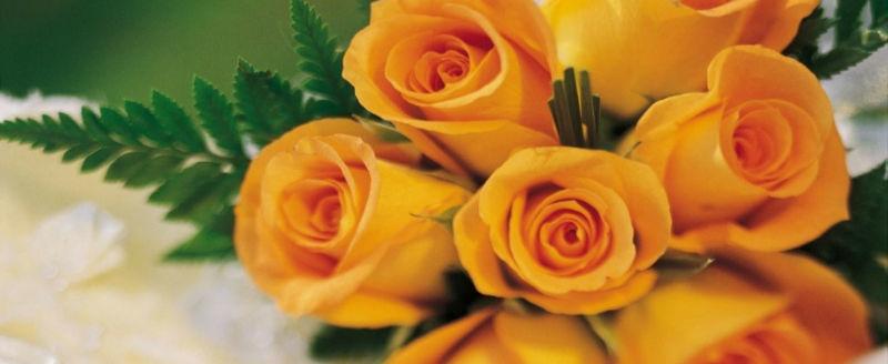 Video bouquet matrimonio con rose arancioni