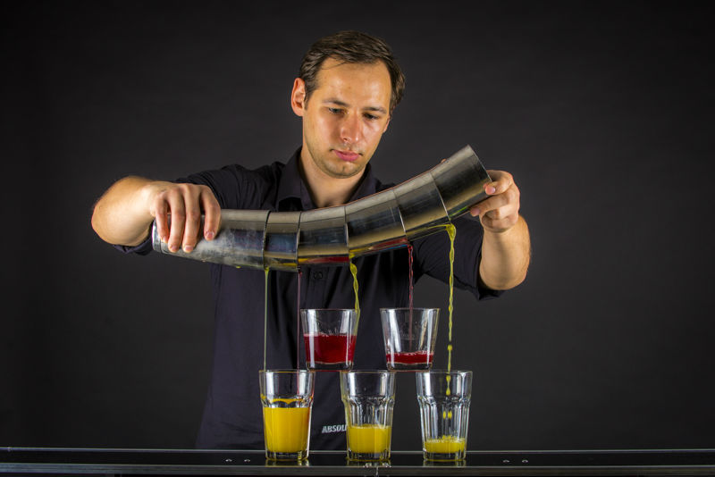 Przygotowywanie koktajli