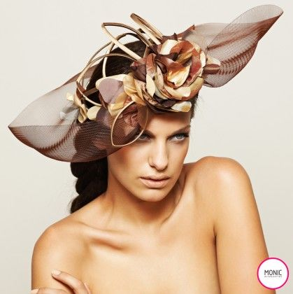 Monic Accessories - ROSE LINE HAT