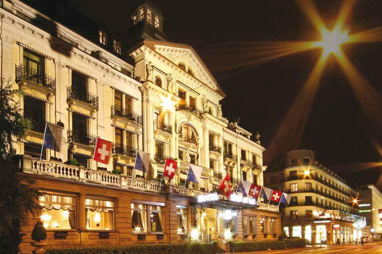 Beispiel: Außenansicht, Hotel Eden au Lac.