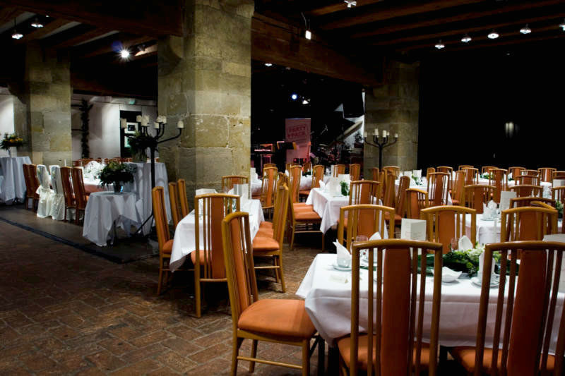 Beispiel: Festsaal für Ihr Bankett, Foto: Leerer Beutel.