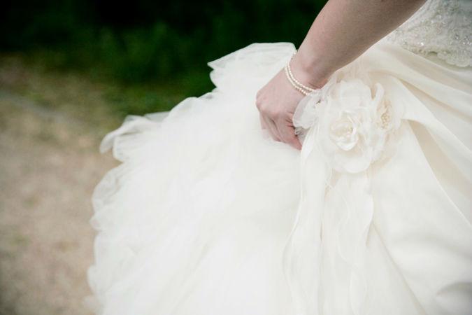 Beispiel: Beratung beim Brautkleid-Kauf, Foto: Wedding and Dreams.