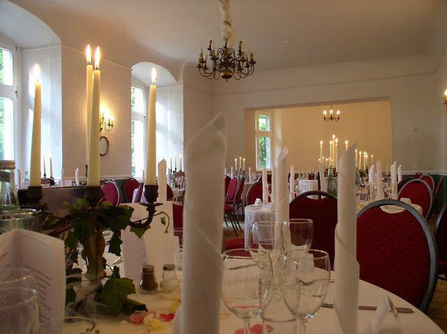 Beispiel: Bankett - Tischdekoration, Foto: Schloss Neuhausen.