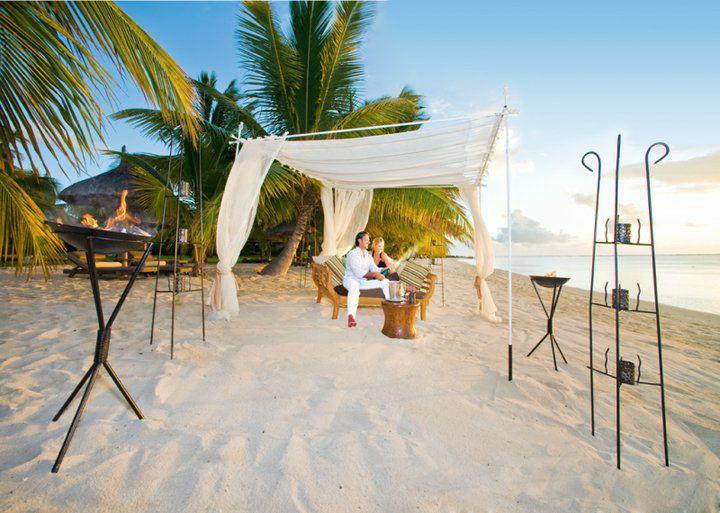 Beispiel: Luxus für Ihre Hochzeit, Foto: LUX*Resorts.