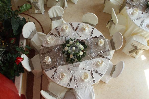 allestimento tavolo - Villa Rosa