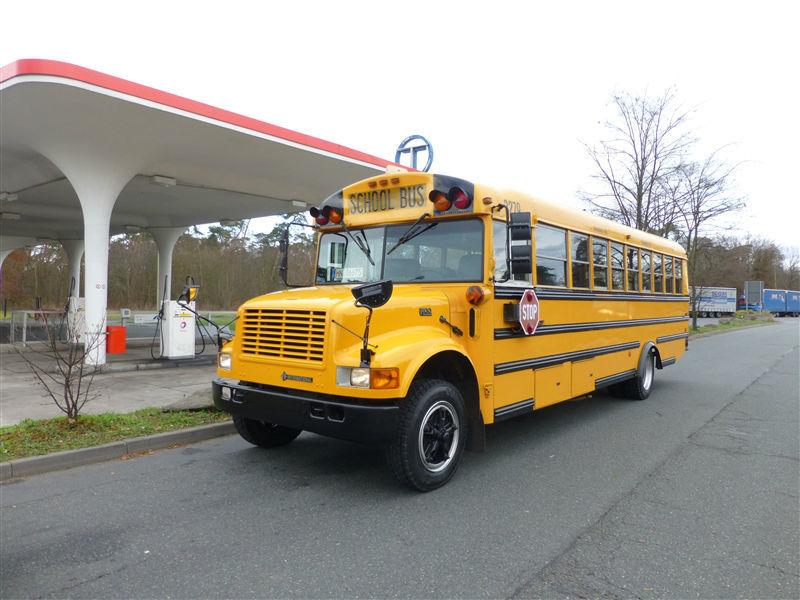 Beispiel: US-Schulbus, Foto: EliteLimos.