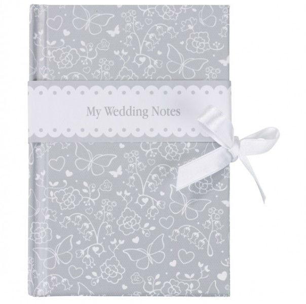 Beispiel: Hochzeitsnotizbuch, Foto: Make my day - Der Hochzeitsshop.