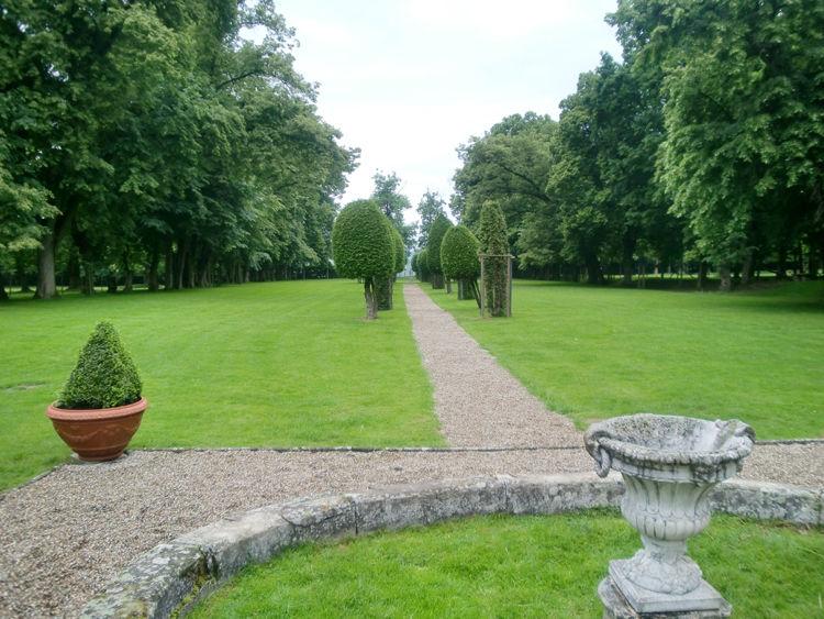 Beispiel: Gartenanlage, Foto: Schloss Assumstadt.
