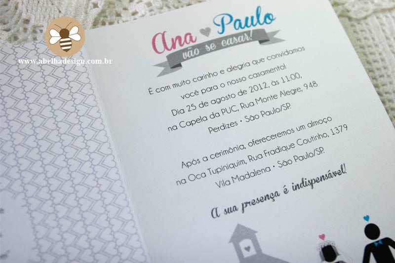 Coleção Bonecos Pictogramas Apaixonados - Modelo Card
