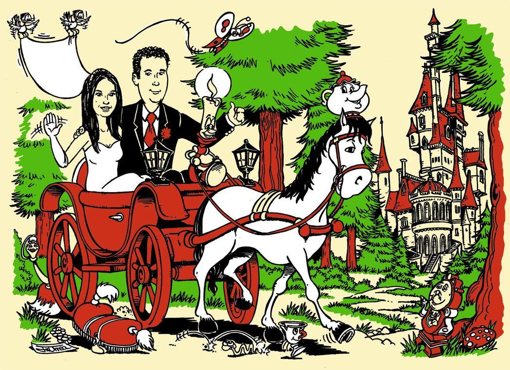 El Coyote Invitaciones de boda