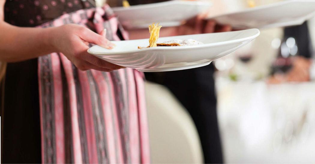 Beispiel: Gehobene Kulinarik und guter Service, Foto: Restaurant Landgasthof Bogner.