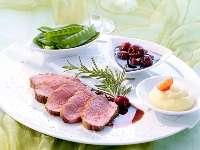 Beispiel: Frische Zutaten, Foto: Kaiserschote Feinkost Catering.