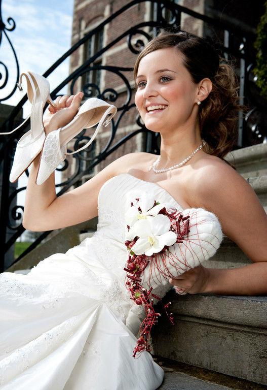 Beispiel: Hochzeitsfloristik, Foto: BLUMEN STRAUB.
