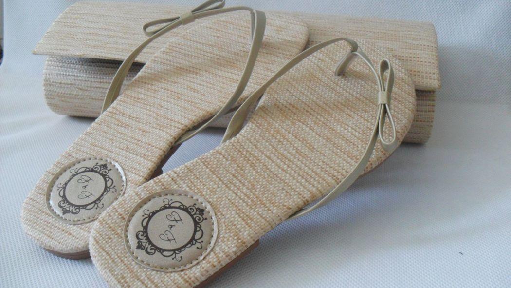 Palha Tradicional com Calcanheira e Laço Simples + Clut