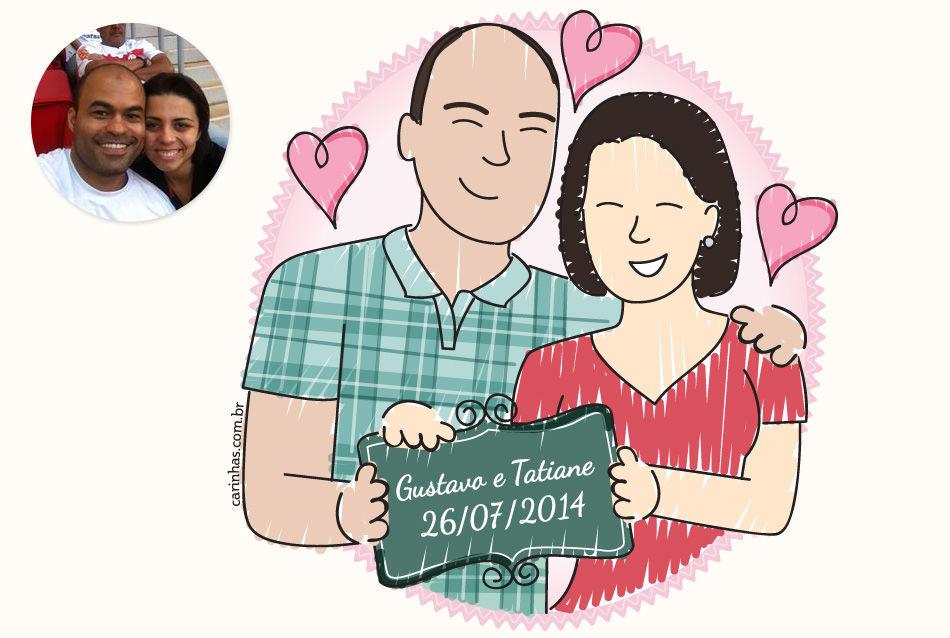 Veja mais detalhes e encomende sua Carinha no nosso site: http://carinhas.com.br/carinhas