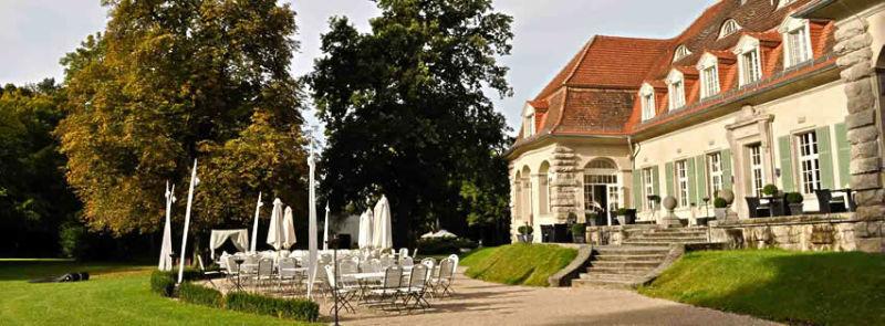 Beispiel: Schlossterrasse, Foto: Schloss Kartzow.