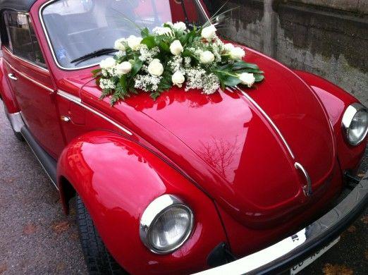 Addobbo per auto Sposi Maggiolone