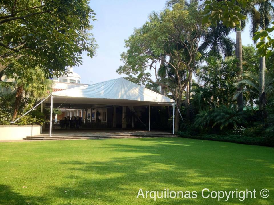 Arquilonas, empresa de renta de carpas y lonas para bodas en Cuernavaca