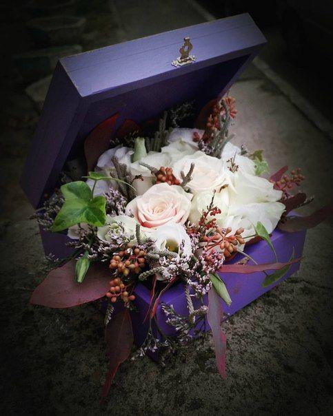 Подушечка для колец, коробочка для колец, цветы на свадьбу