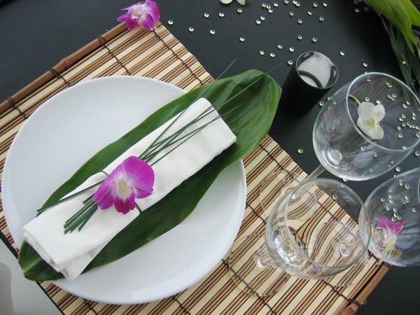 Beispiel: Tischdekoration, Foto: Fleet 3.