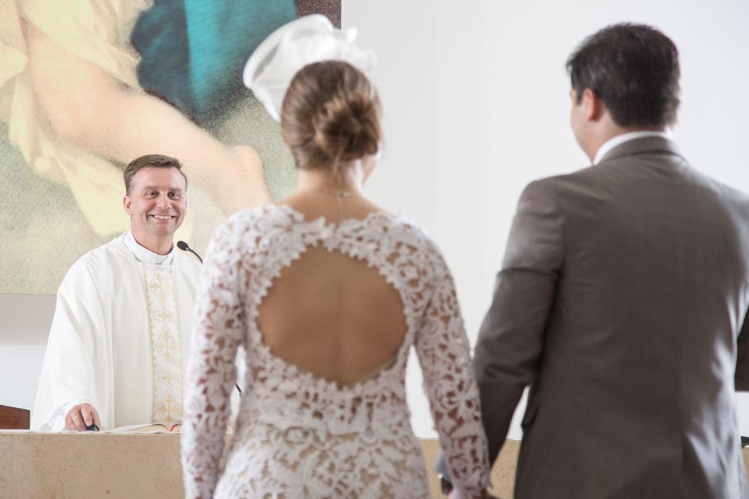 Saludo a novios  - Ceremonia religiosa