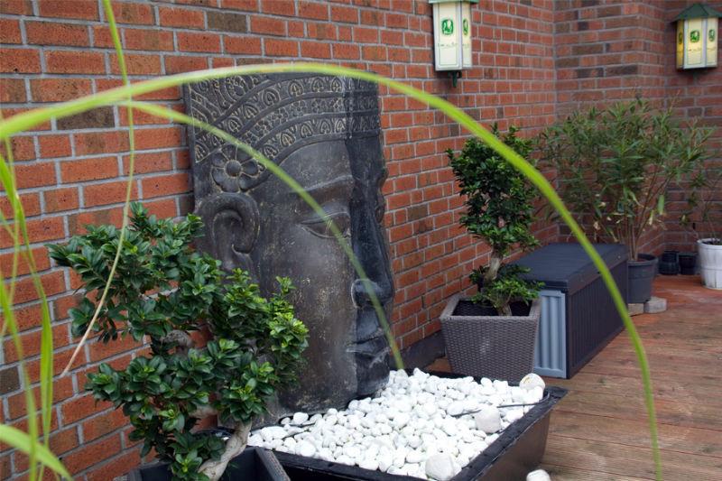 Beispiel: Ambiente auf der Terrasse, Foto: Landhaus Wieler.