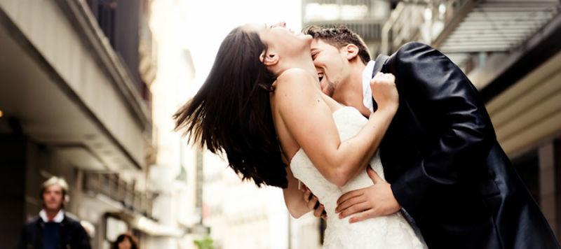 Instantáneas de la boda