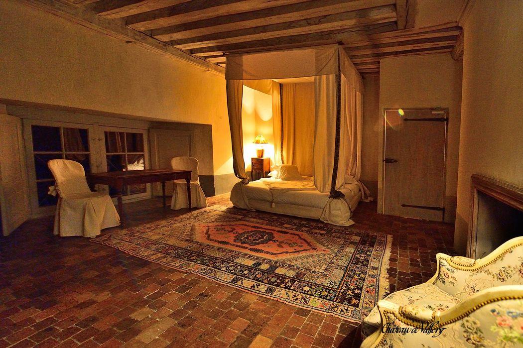 Chambre Petit Condé - Château de Vallery