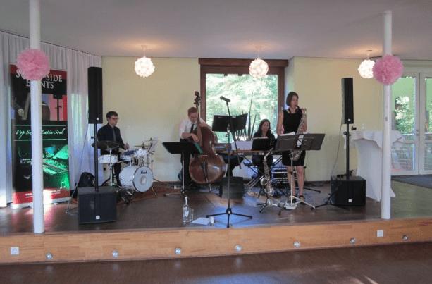 Bandbesetzung, Foto: Sunny Side Events.