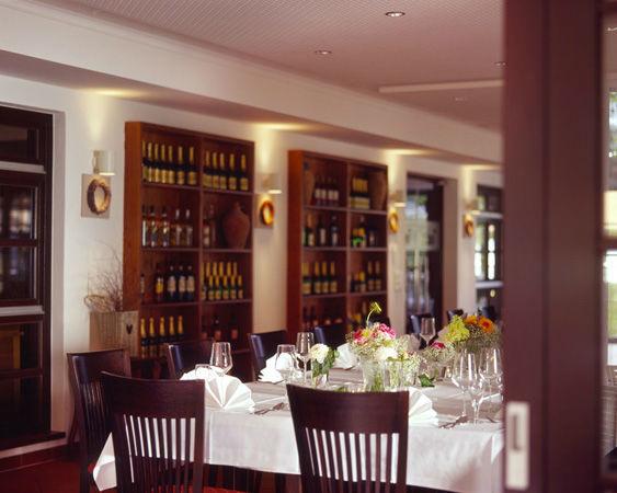 Beispiel: Innenraum, Foto: Luckner Parkrestaurant.