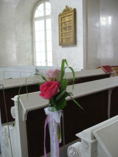 Beispiel: Kirchendekoration, Foto: Blatt+Form.