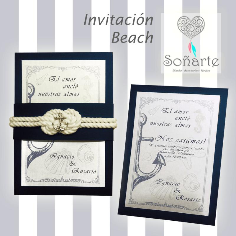 Invitación Beach
