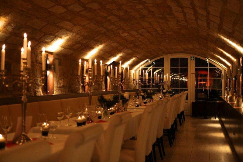Beispiel: Gewölbe - Hochzeitstafel, Foto: Marcolinis Welt.