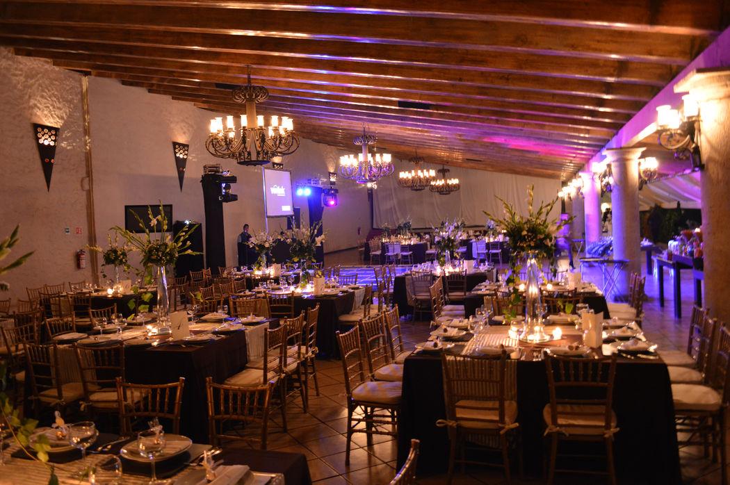 montaje boda musica al centro