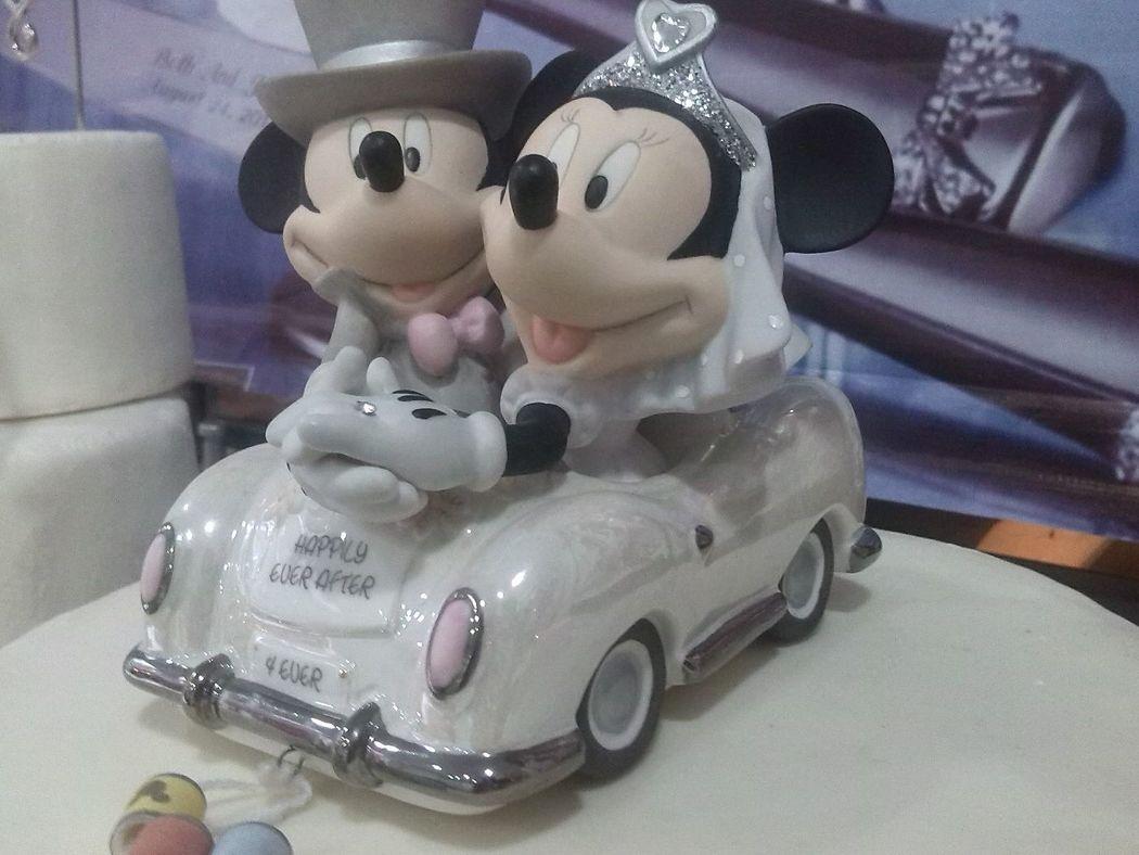 Adorno de torta Disney Original