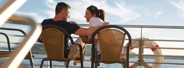 Beispiel: Hochzeit auf See, Foto: Zugersee Schifffahrt.