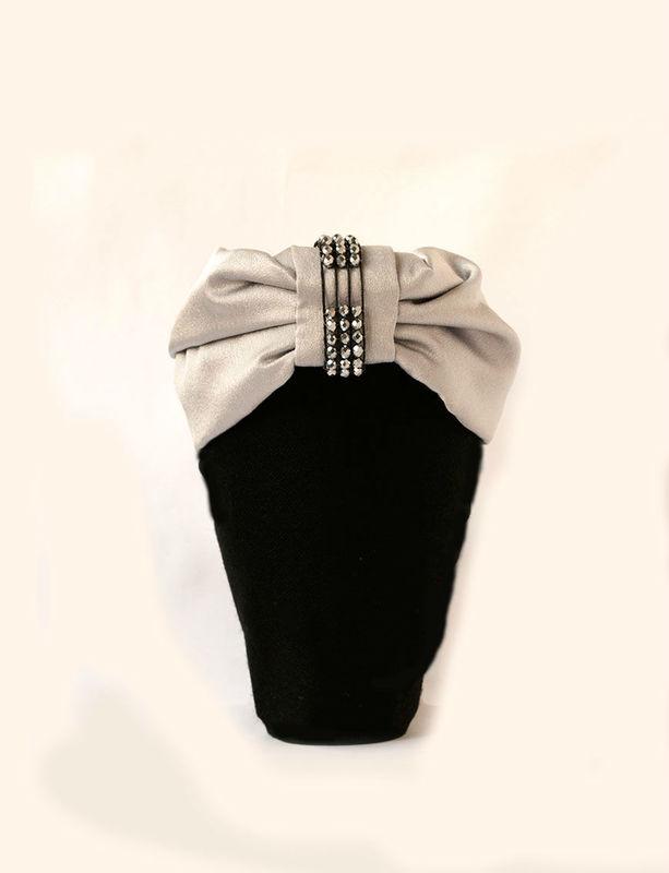 Turbante Blanche Cantuc Tocados Precioso para novia