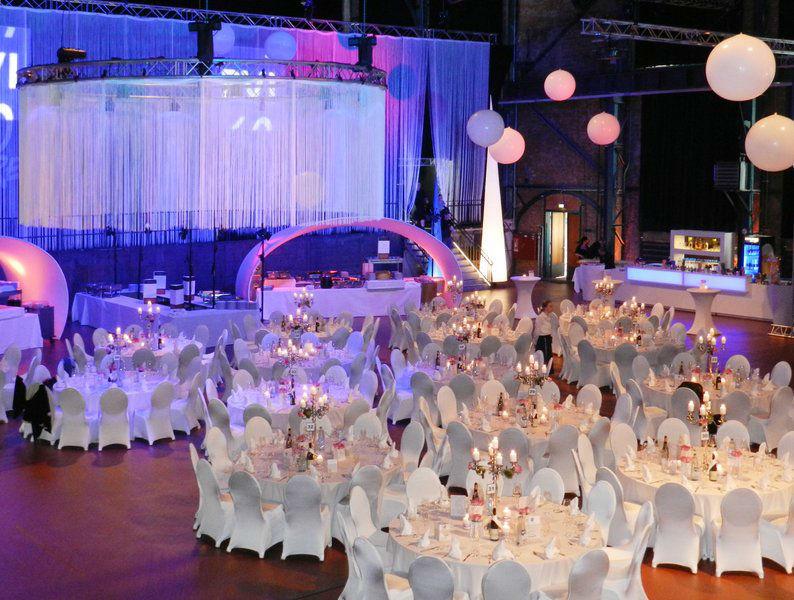 Beispiel: Hochzeits-Bankett, Foto: E Werk Saarbrücken.