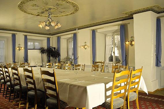 Beispiel: Eindruck von den Räumlichkeiten, Foto: Landgasthof Adler Grüningen.