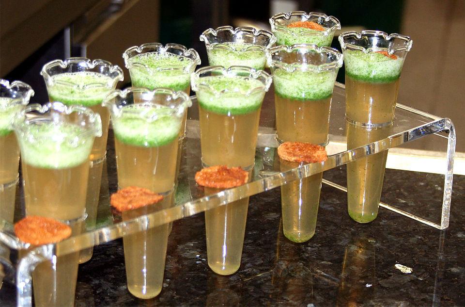 Beispiel: Ausgefallene Präsentation, Foto: Stiftl Catering und Events.