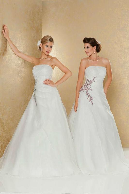 Beispiel: Brautmode zum Wohlfühlen, Foto: Weise Brautmode.