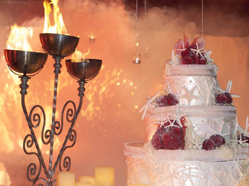 wedding cake - Villa Rosa