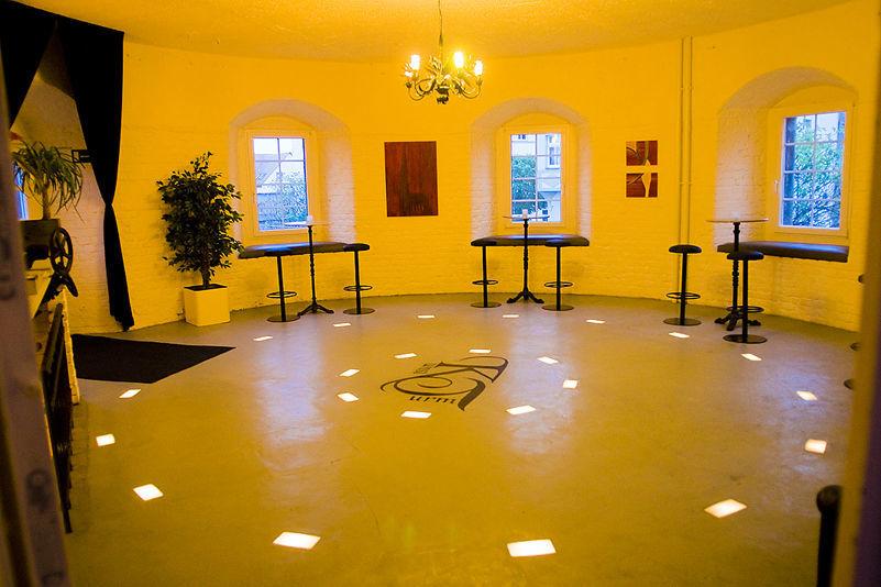 Beispiel: Tanzfläche, Foto: KunstTurm Weimar.