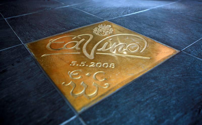 Beispiel: Fliessenboden, Foto: EdVino.
